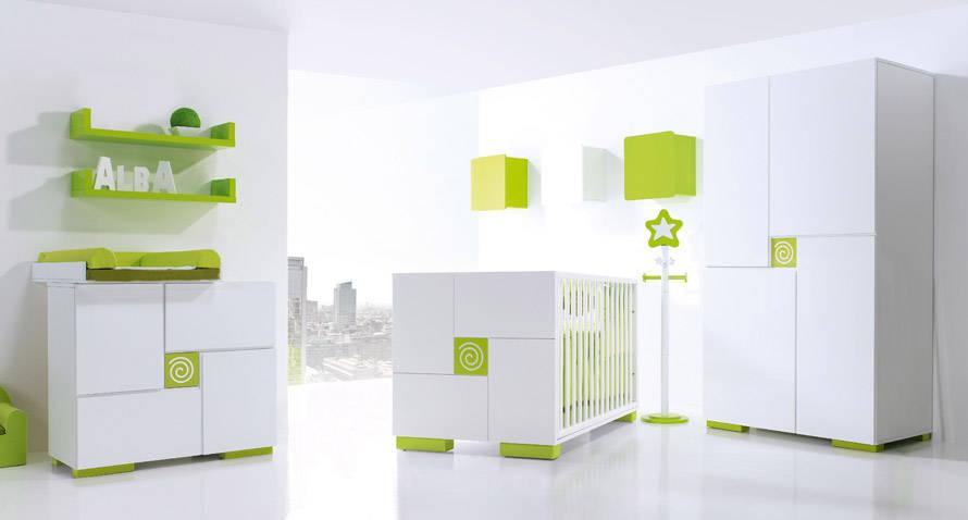 Chambre b b meubles et lits de b b s et enfants de design alondra for Catalogue vertbaudet chambre bebe