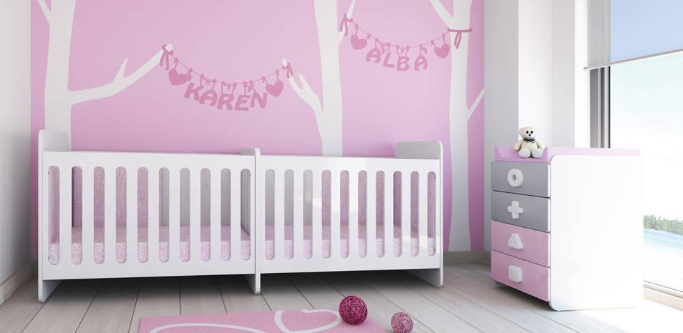 Chambre Jumeaux Bebe 2 : Chambre bébé meubles et lits de bébés enfants