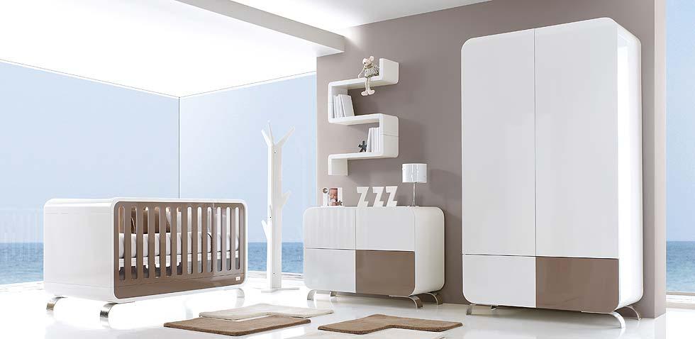 Chambre b b meubles et lits de b b s et enfants de design alondra for Chambre luxe bebe