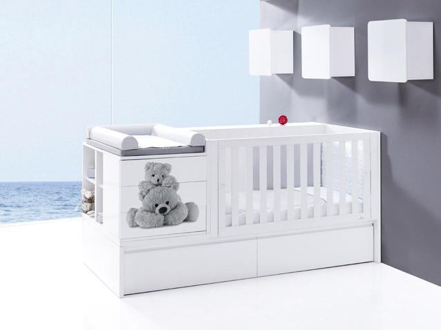 chambre b b meubles et lits de b b s et enfants de design alondra. Black Bedroom Furniture Sets. Home Design Ideas